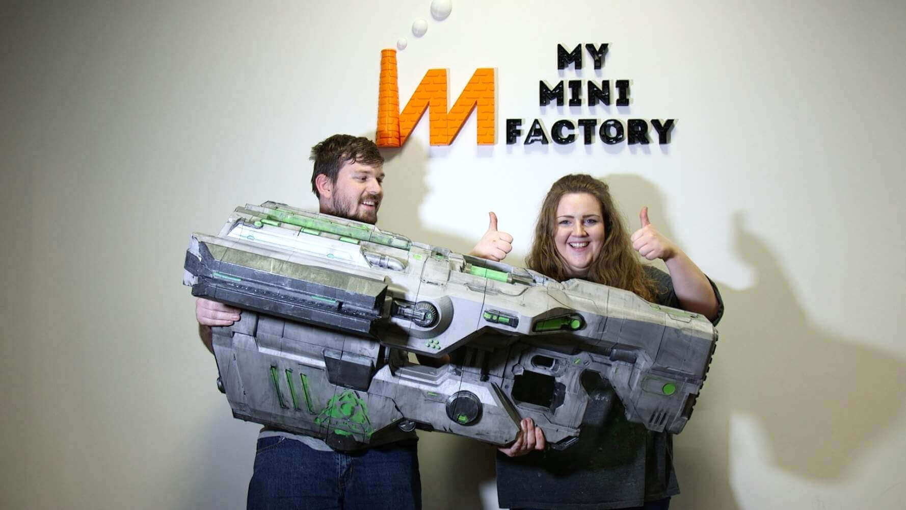 DOOM BFG Prop by MyMiniFactory used 20kg of Filament | All3DP