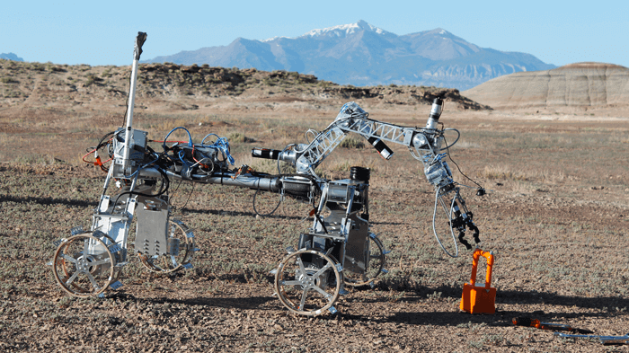 Exploring Mars with a 3D printed Planetary Rover | All3DP