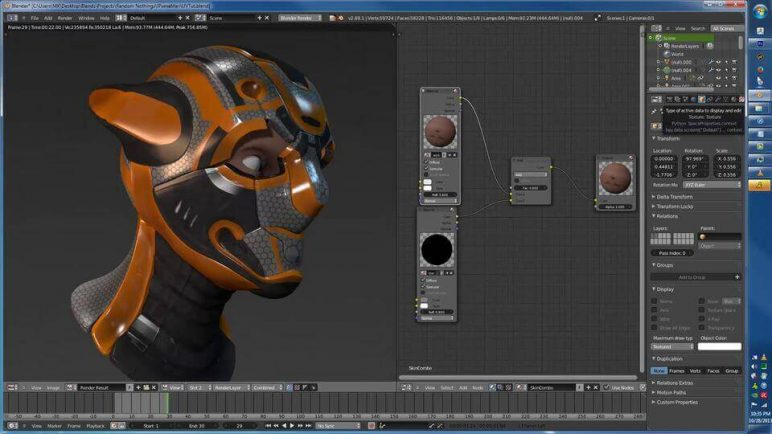 Image of Die besten 3D-Animationsprogramme (3D-Animation-Software): Blender