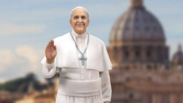 Pope Francis Blesses 3D Printers Made By Students | All3DP