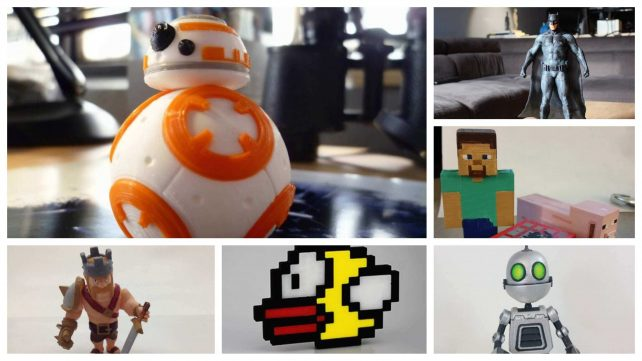Featured image of 10 Most Amazing Video Game Characters to 3D Print