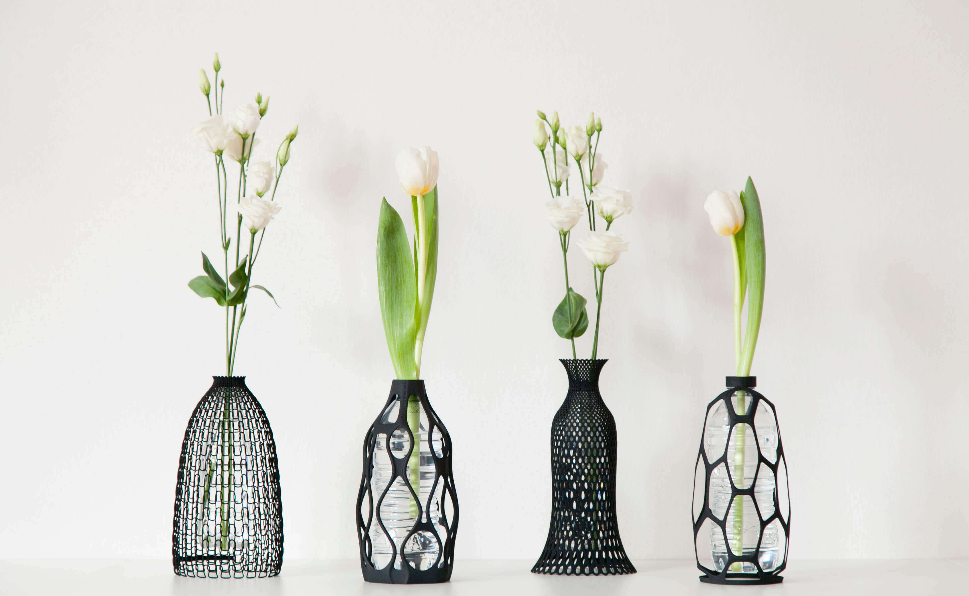 3D Printed Vase Promotes Plastic Bottle Recycling | All3DP