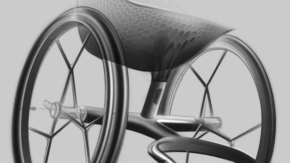 Layer Designs World's First 3D Printed Wheelchair | All3DP