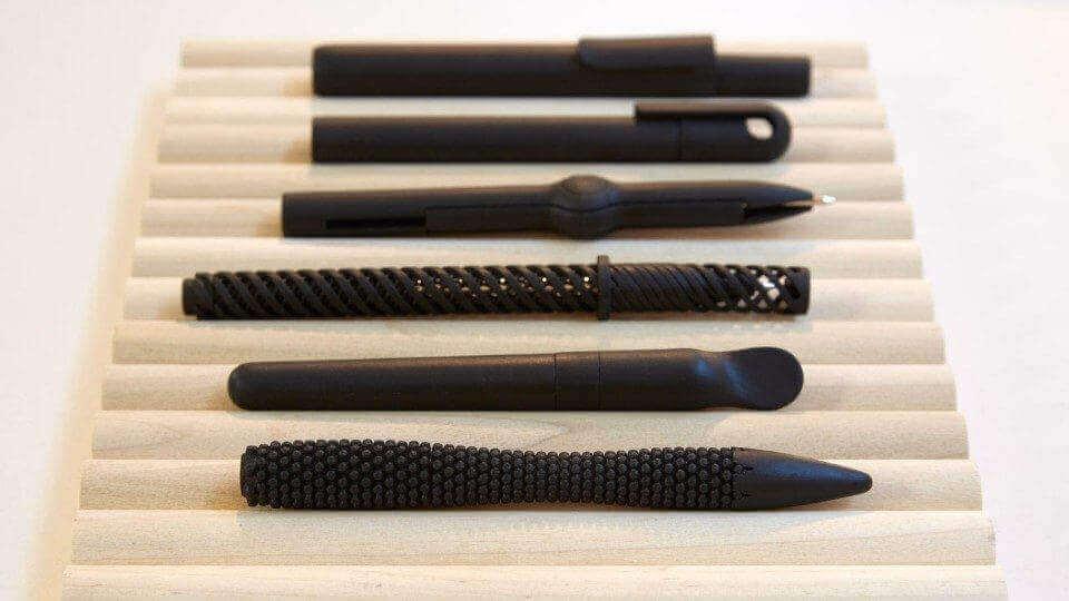 Alessi Goes Digital: 3D Printed Pens | All3DP