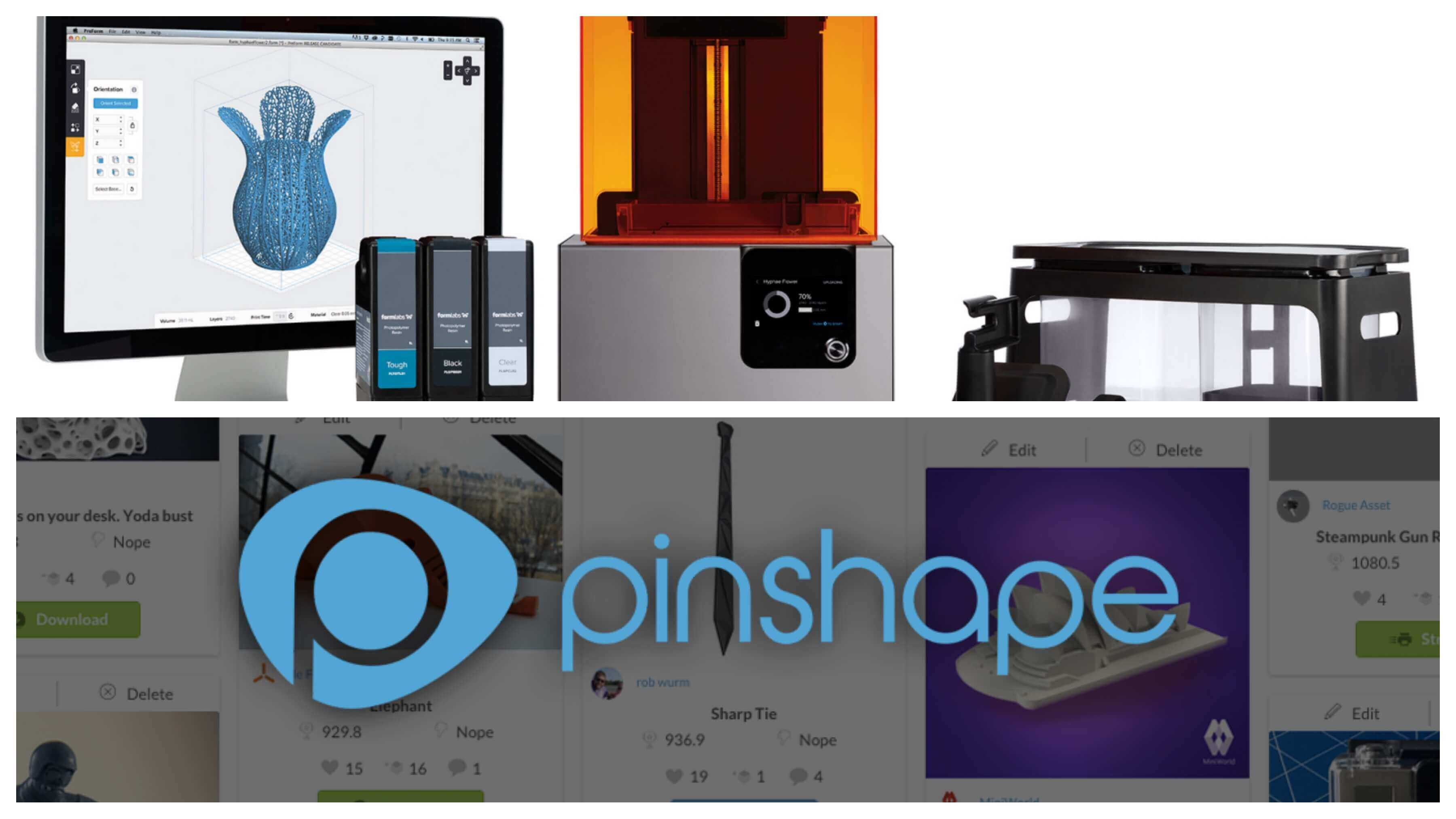 Formlabs Acquires 3D Printing Marketplace Pinshape | All3DP