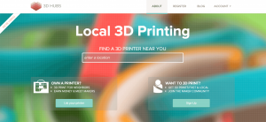 Local 3D Printing like 3D Hubs