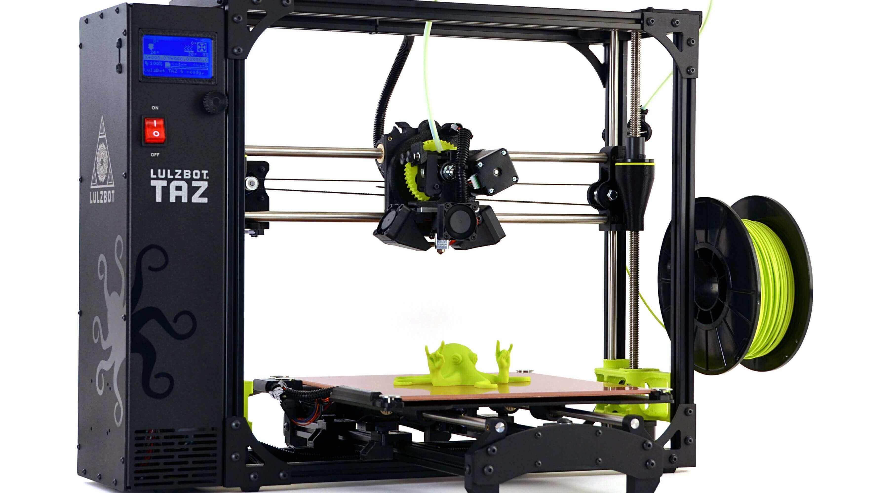 Aleph Objects Unveil Lulzbot TAZ 6 | All3DP