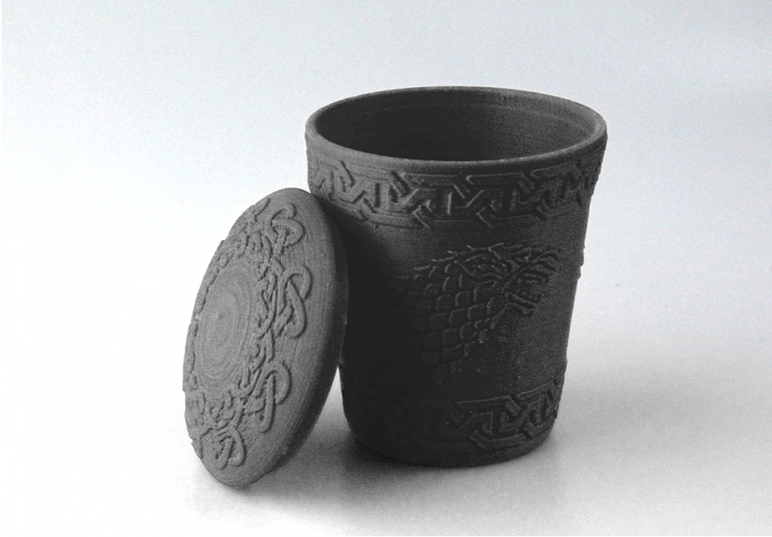 Image of Game of Thrones 3D Models to 3D Print: Stark Dice Cup