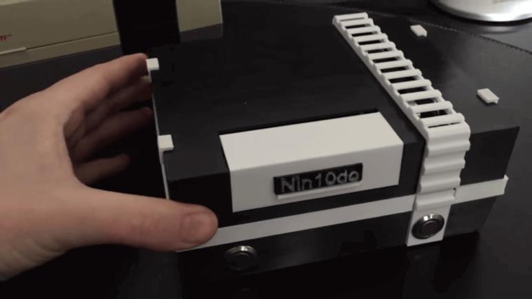 Image of Boîtier RetroPie: La nin10do (boîtier Raspberry Pi pour Nintendo)