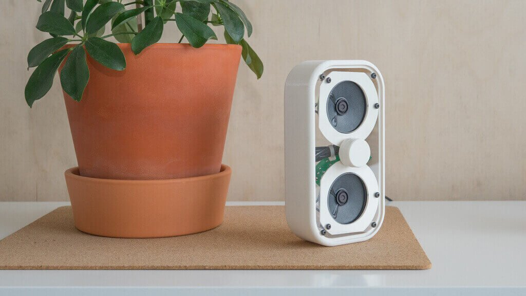 3D Printed Speaker Kits from Kitronik Look Gorgeous   All3DP