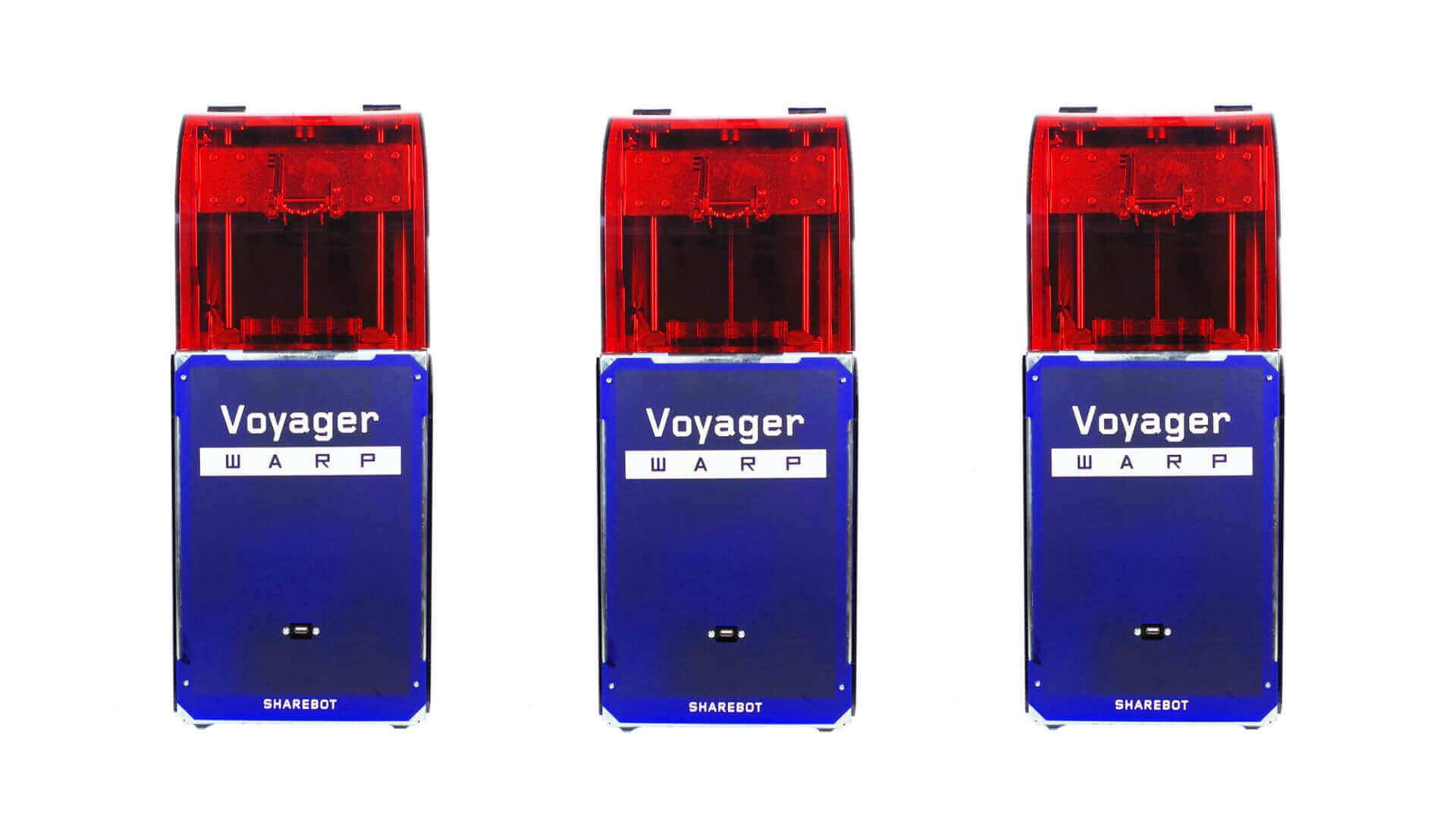 Sharebot Voyager WARP Promises Super Speedy DLP | All3DP
