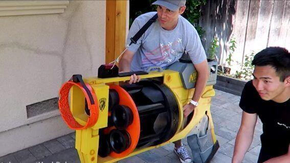 This is the World's Largest Nerf Gun | All3DP