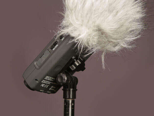 Portable Audio Recorder Mic Stand Adapter