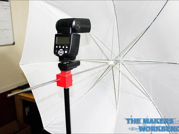 Umbrella Holder and Hot Shoe Adapter