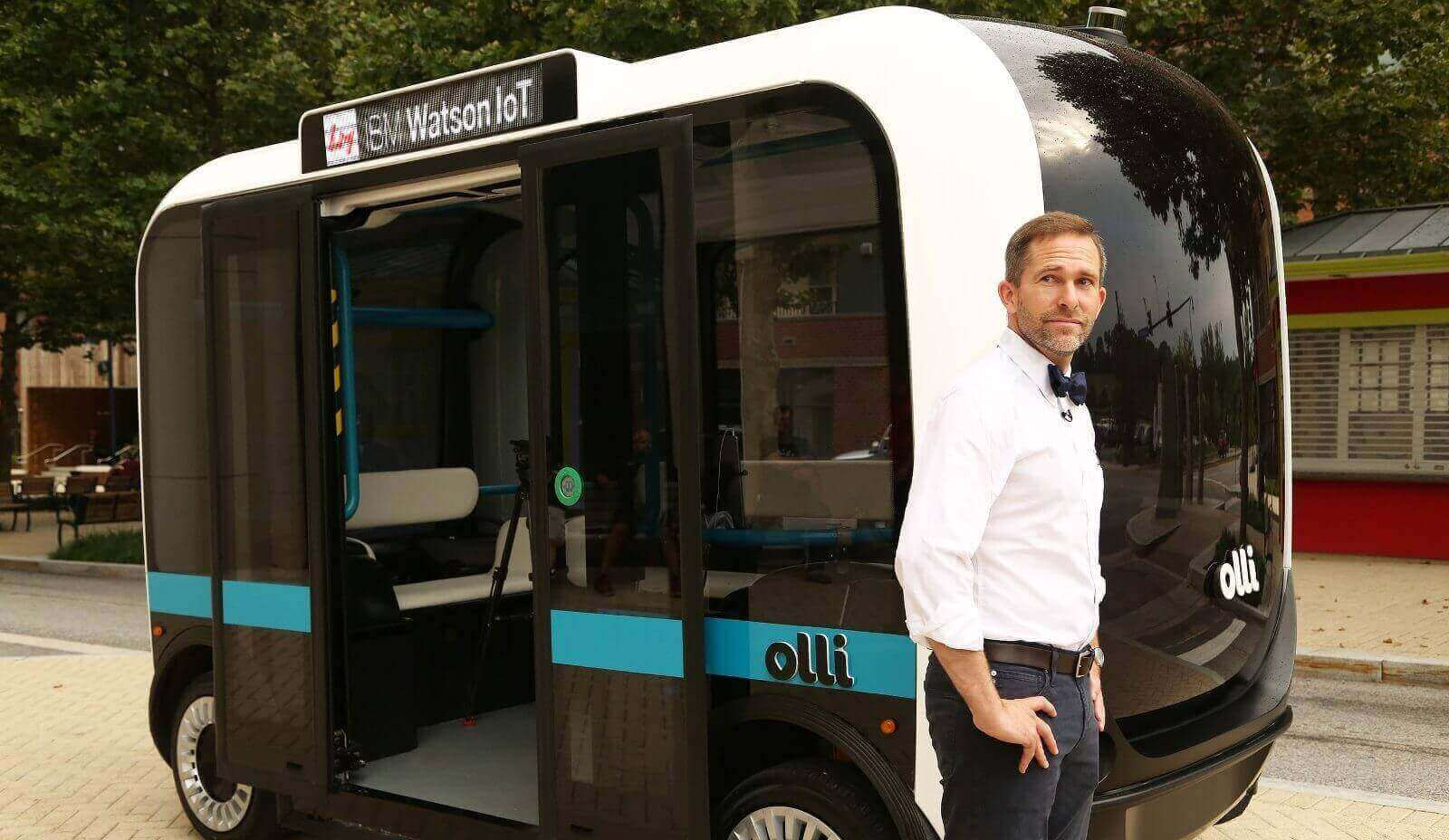 Local Motors' 3D Printed Bus is Autonomous and Awesome | All3DP