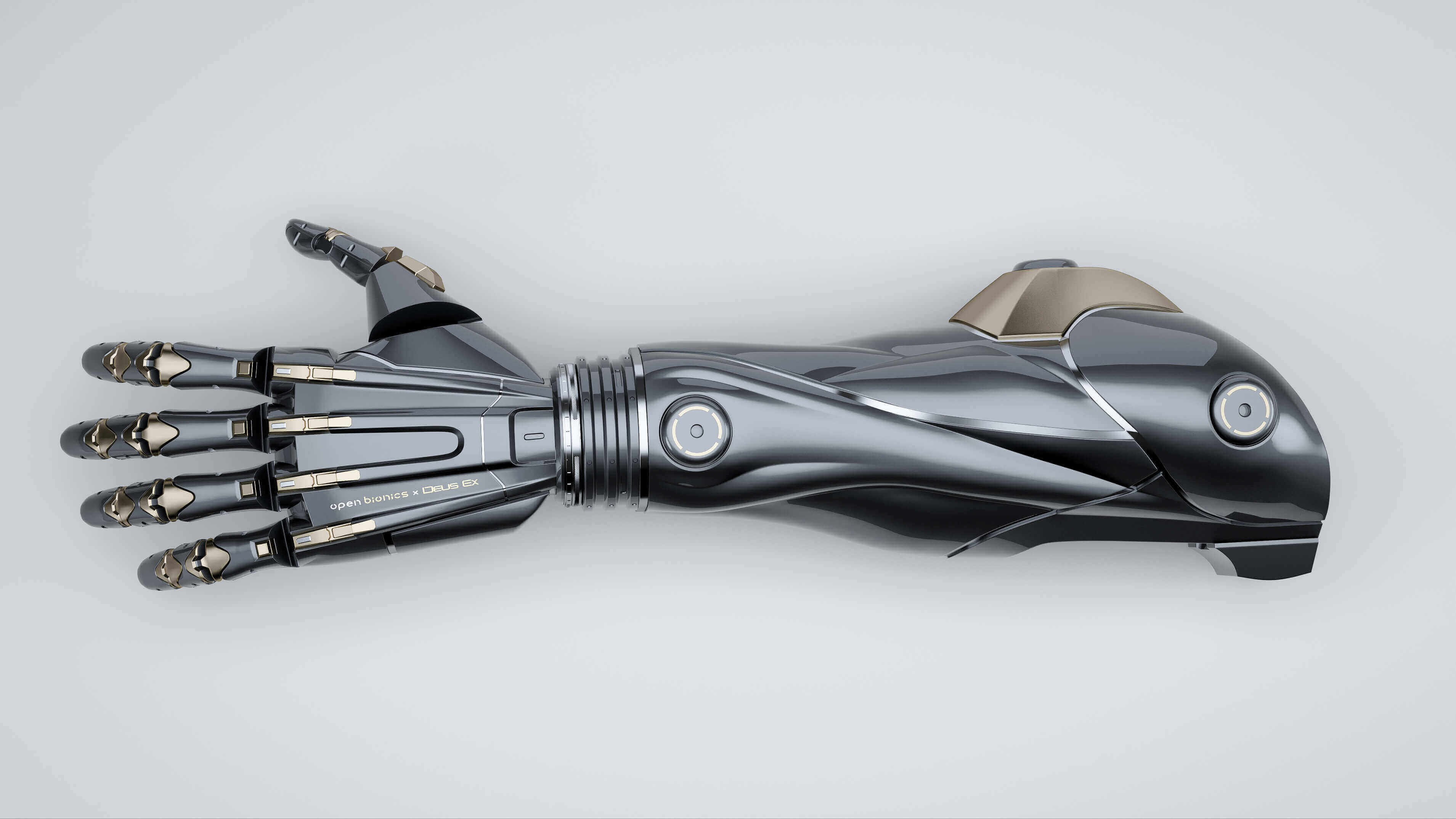 Open Bionics making 3D Printed Deus Ex Prosthetics | All3DP
