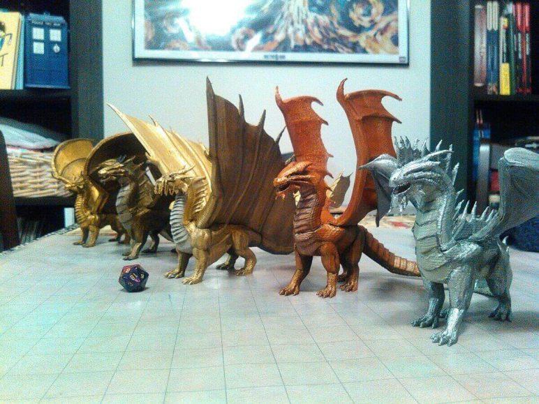 image of 3d printed rpg dd miniatures monsters