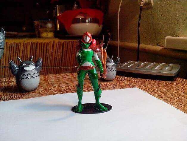 image of 3d printed rpg dd miniatures ranger