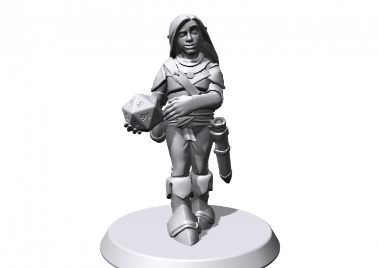 24 Fantastic 3D Models of RPG/D&D Miniatures to 3D Print | All3DP