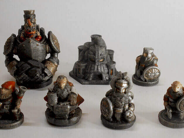 Handy image pertaining to 3d printable d&d miniatures
