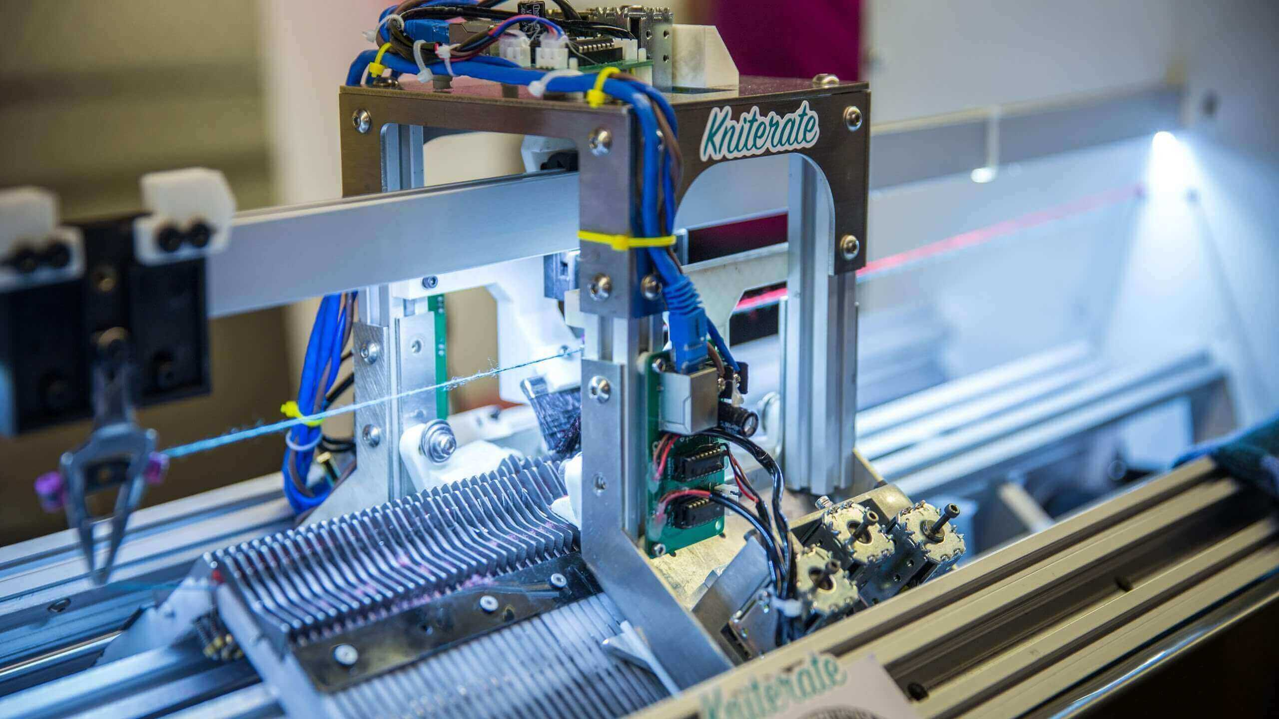Kniterate is a 3D Printer for Clothes | All3DP