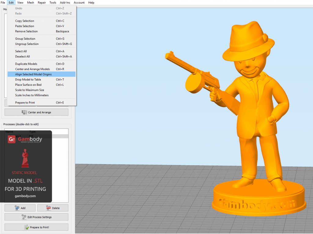 Simplify3D User Guidelines from Gambody | All3DP