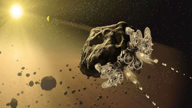 NASA Funds 3D Printers In Space to Mine, Fly Asteroids | All3DP
