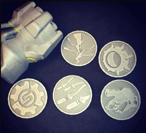Image of Overwatch 3D Models: Ultimate Coins