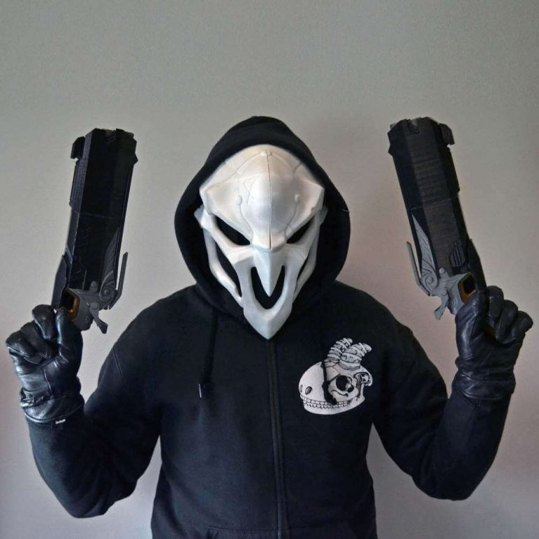 Image of Overwatch 3D Models: Reaper Mask