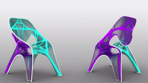 Featured image of 3D Printed Zaha Hadid Chair at Venice Biennale
