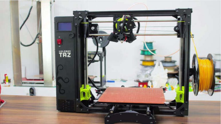 Image of Best Selling 3D Printer on Amazon: Lulzbot Taz 6