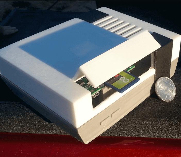 Image of Raspberry Pi NES Case: piNES