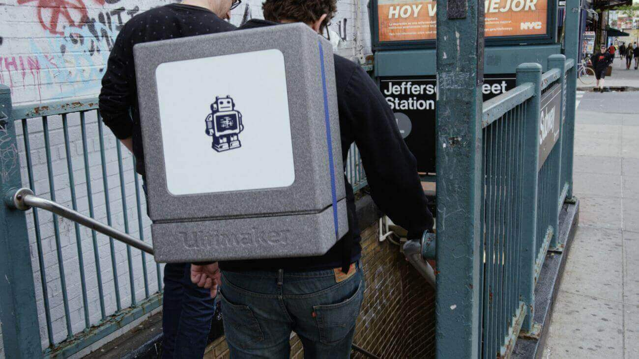 Ultimaker 2 Go Backpack makes 3D Printing Portable | All3DP