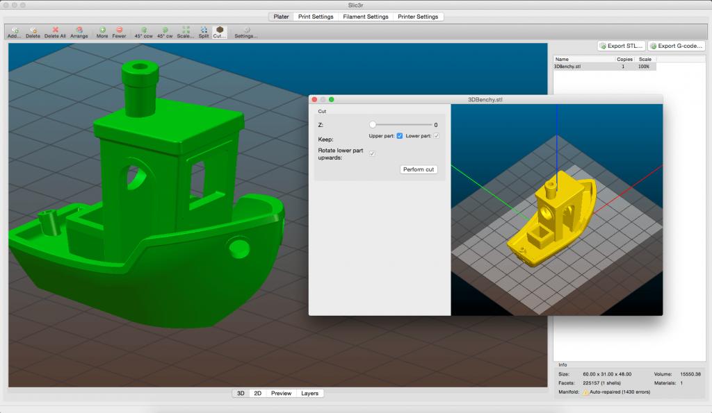 Best 3D Slicer Software #13: Slic3r