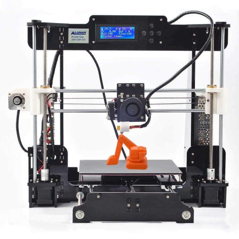 Image of Best Selling 3D Printer on Amazon: Alunar DIY Prusa i3 (M505)