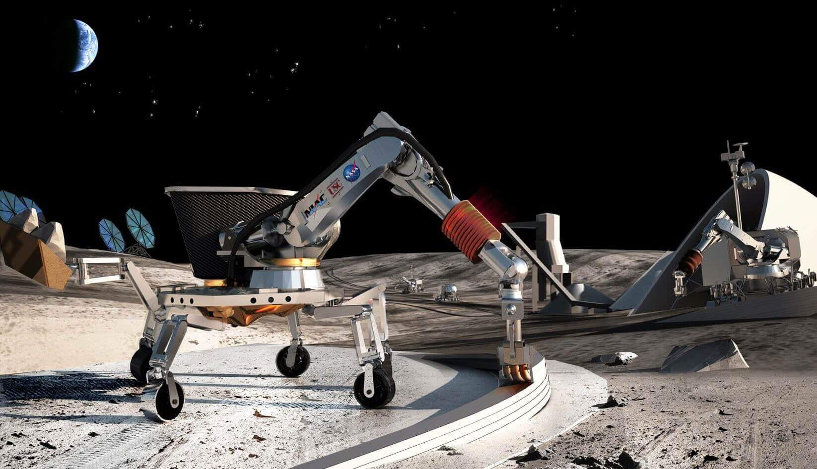 Professor wants NASA to 3D Print Houses on the Moon | All3DP