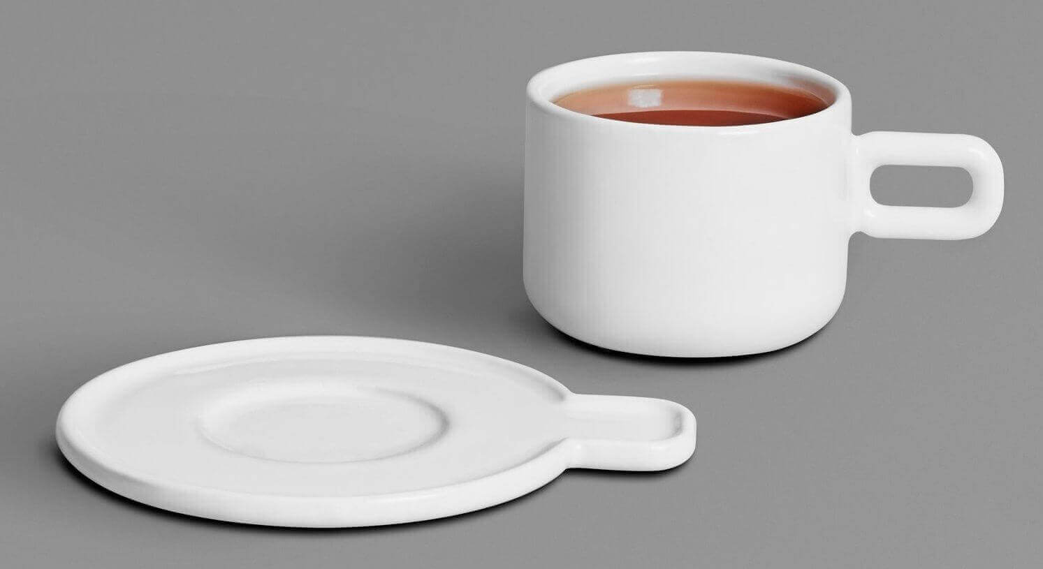 3D Printed Cup and Saucer added to Othr Collection | All3DP