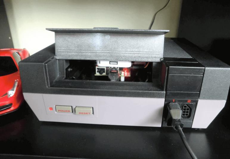 Image of Raspberry Pi NES Case: Nintendo Entertainment System Mod
