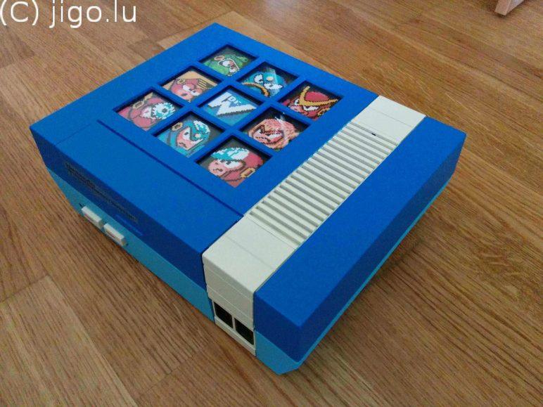 Image of Raspberry Pi NES Case: Jigo's Mega Man Mod