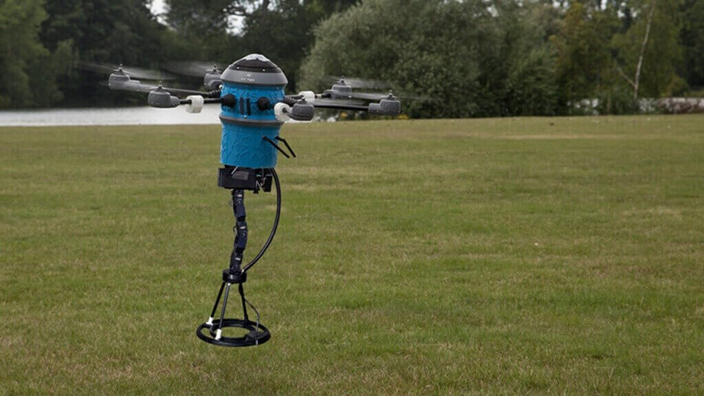 3D Printed Mine Kafon Drone Can Remove Mines Safely | All3DP