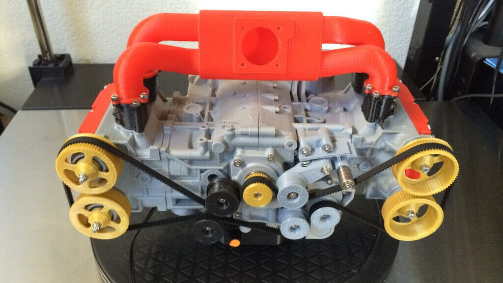 3D Printed Subaru Engine is Fully Functional | All3DP