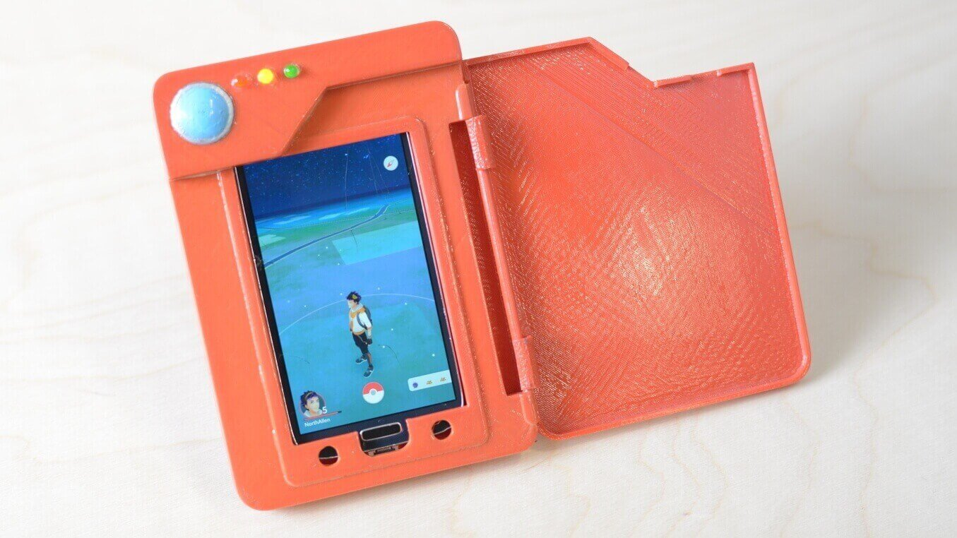3D Printed Pokédex Perfect for Playing 'Pokémon Go' | All3DP