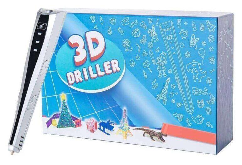 Image of Mejores lápices 3D para aficionados: Lápiz 3D Driller