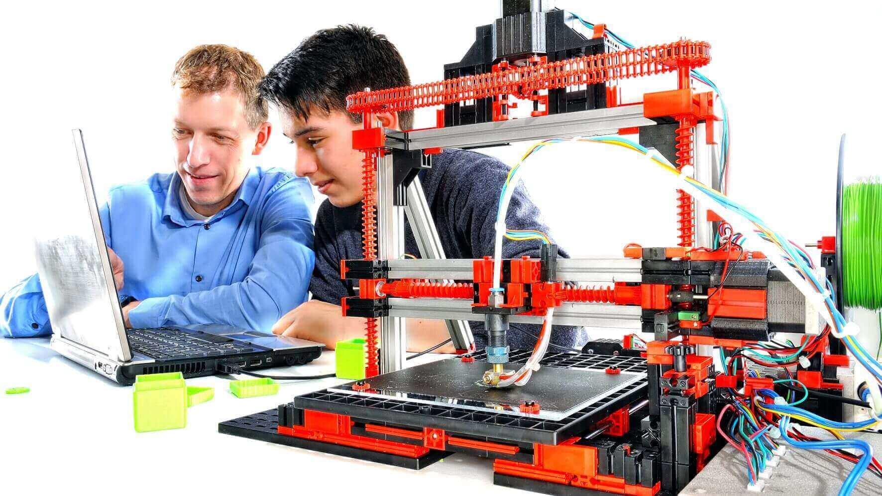 Modular 3D Printer Kit from Fischertechnik | All3DP
