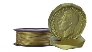 Product image of Bronze PLA Filament