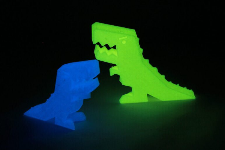 Image of PLA Filament Guide: Glow-In-The-Dark