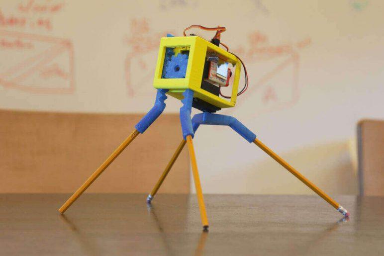 Image of 3D Printed Robot: Randy Sarafan's 3D Printed Robot