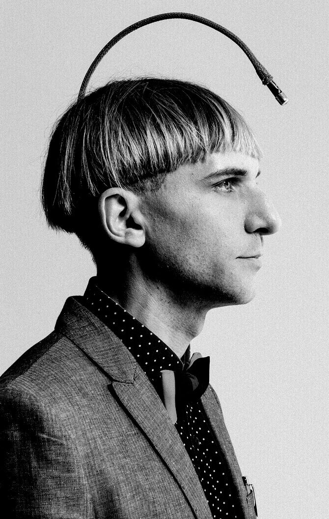 Can 3D printed humans travel space? (Image: Neil Harbisson)