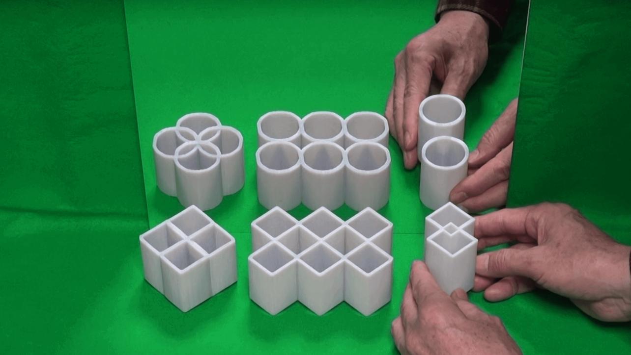 illusion optical 3d print mirror amazing all3dp