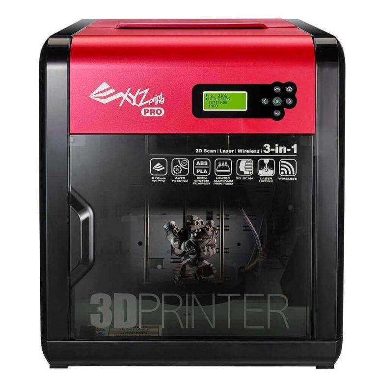 Image of Best Selling 3D Printer on Amazon: XYZprinting da Vinci 1.0 Pro 3-in-1